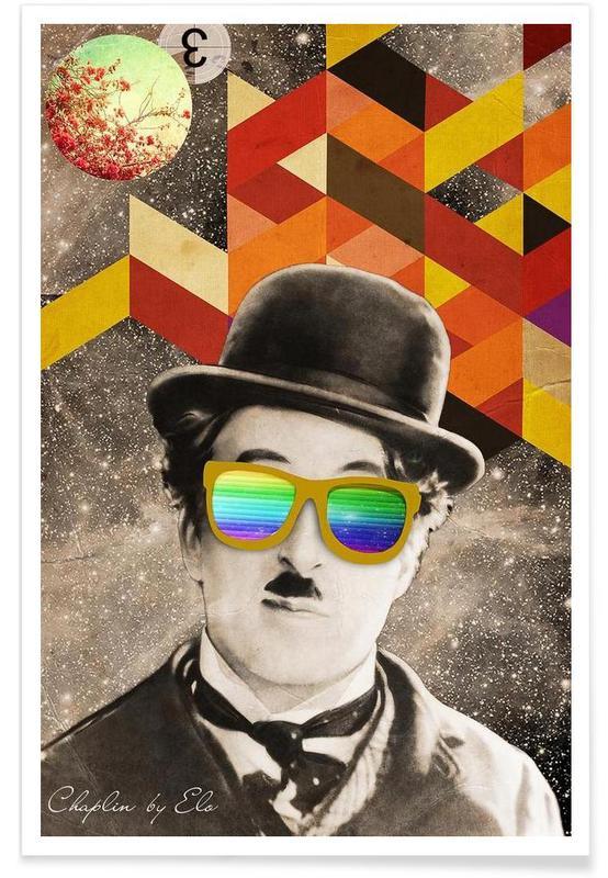 Public Figures: Chaplin Poster