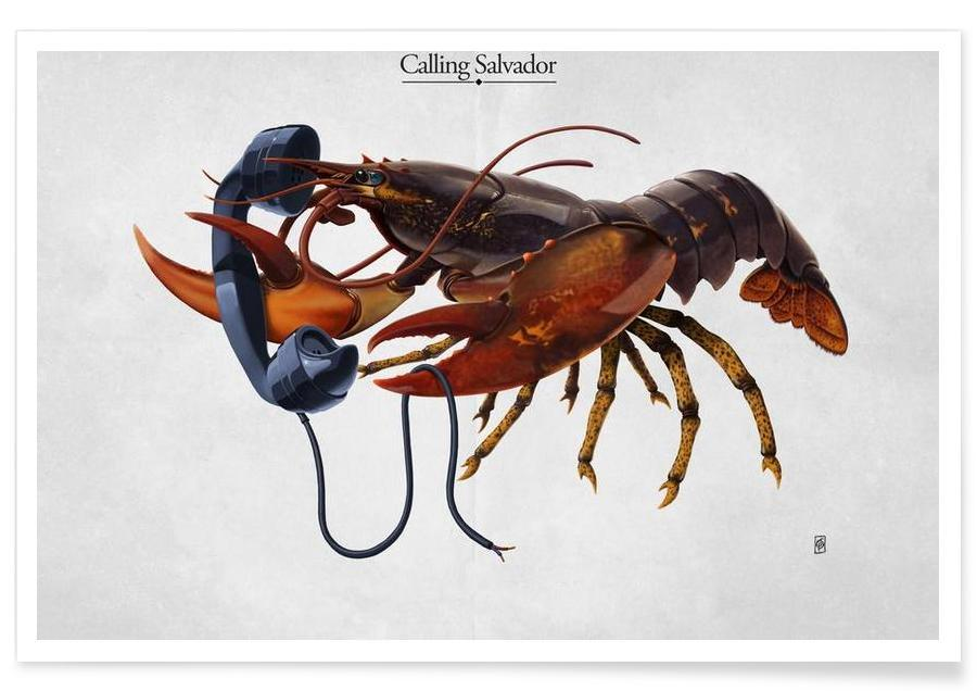 Calling Salvador (titled) Poster