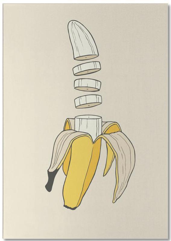 Banana Split -Notizblock