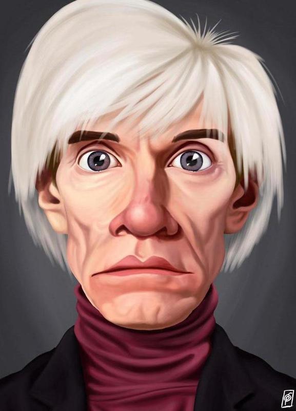 Andy Warhol canvas doek