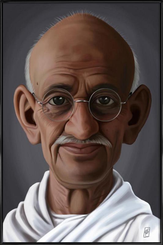 Mahatma Gandhi Framed Poster