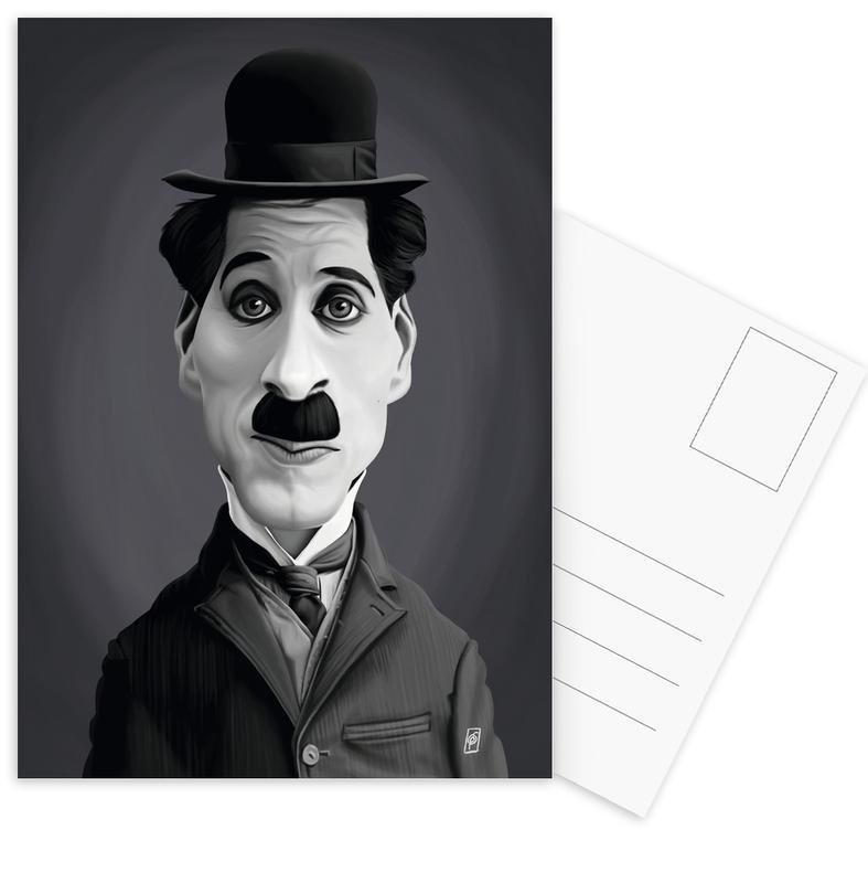 Charlie Chaplin Postcard Set