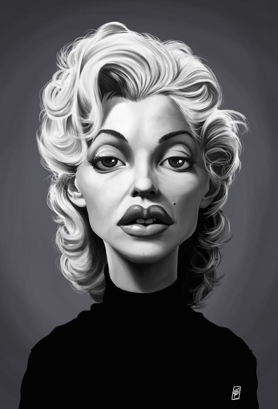 Marylin Monroe Acrylglasbild   Dekoration > Bilder und Rahmen > Bilder