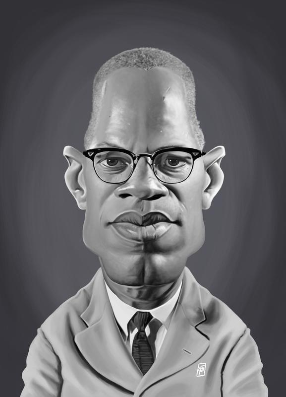 Malcolm X toile