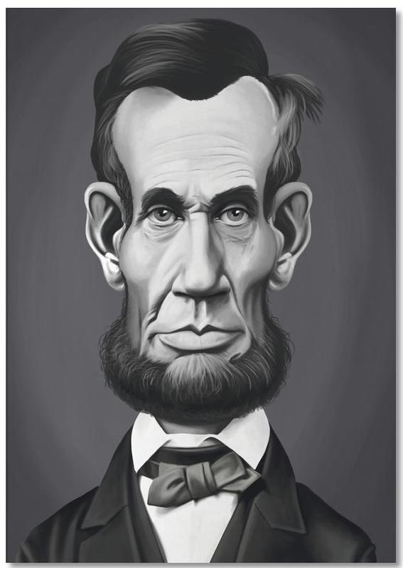 Abraham Lincoln bloc-notes