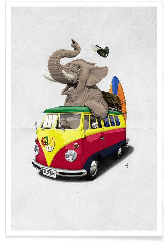 Pack the trunk -Poster