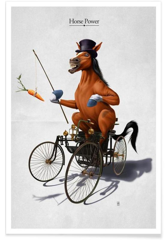Horse Power (titled) Poster