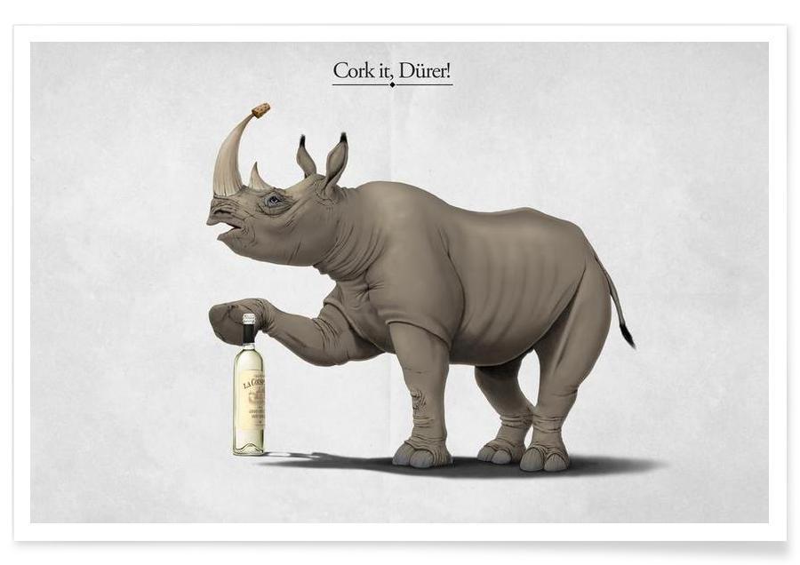 Cork it, Dürer! (titled) poster