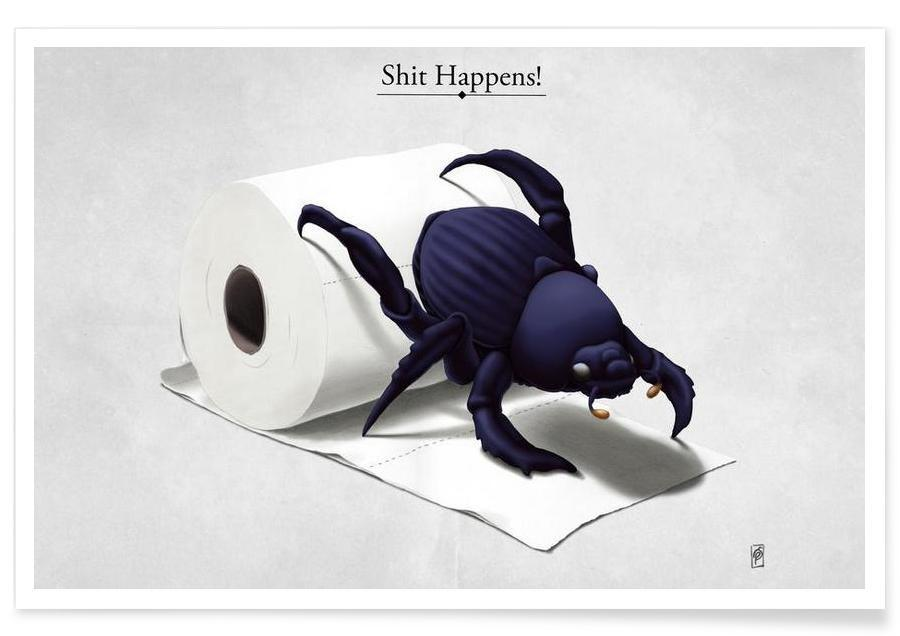 Shit happens (titled) Poster