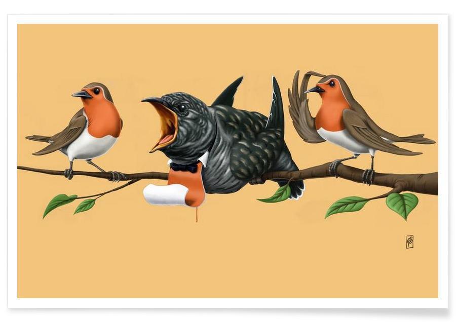 Cock Robin (colored) -Poster