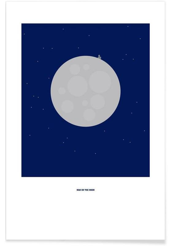 Man on the Moon -Poster