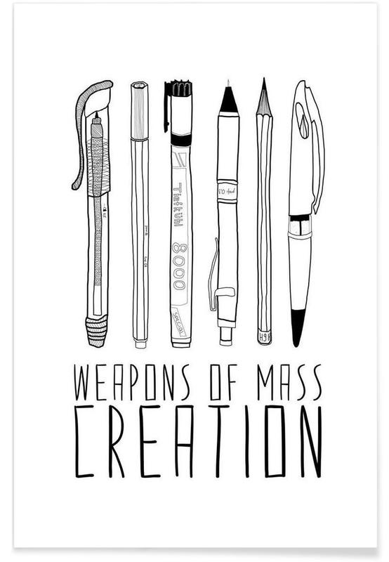 Weapons of Mass Creation -Poster