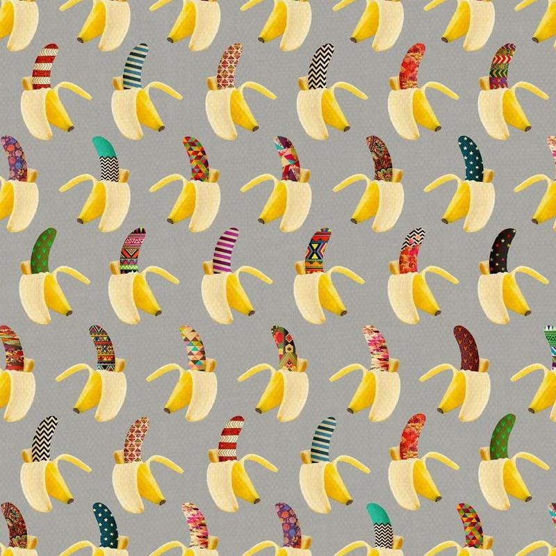 Anna Banana canvas doek