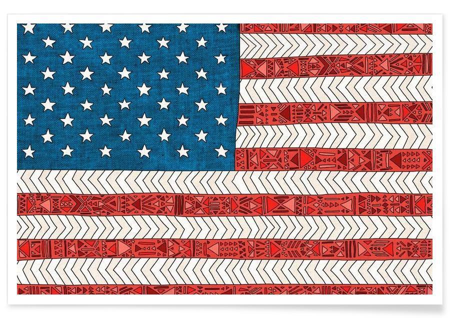USA affiche