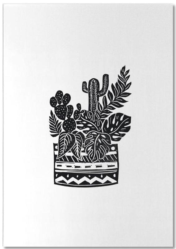 Botanical Pot Notizblock   Dekoration > Accessoires