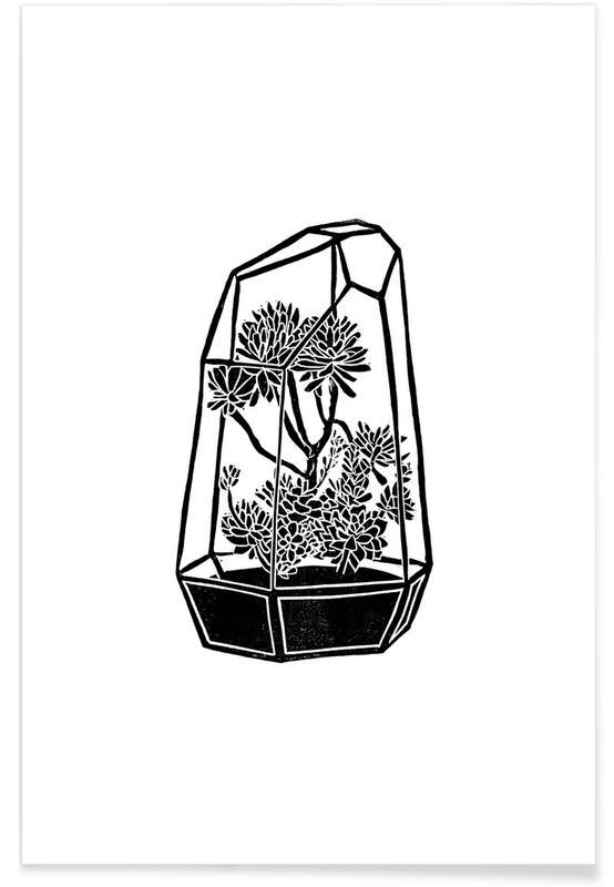 Terrarium Premium Poster | Dekoration > Bilder und Rahmen > Poster | Mehrfarbig
