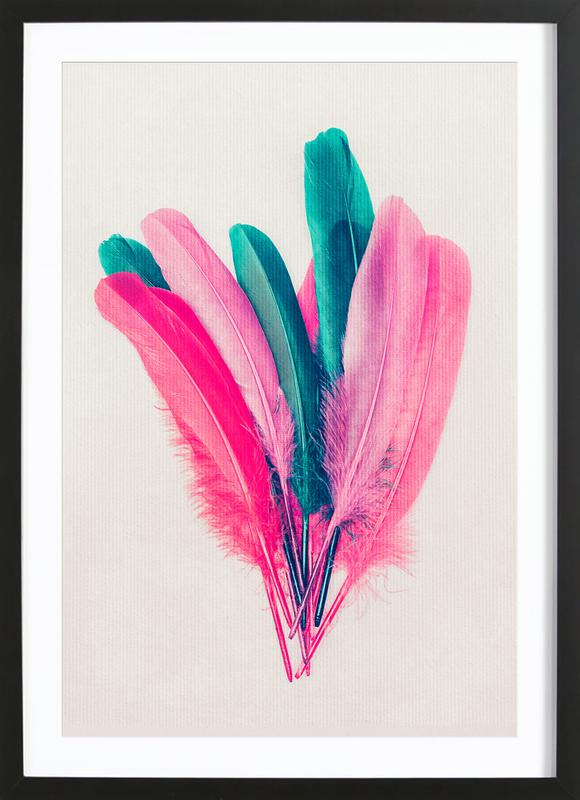 Feather Bouquet Framed Print