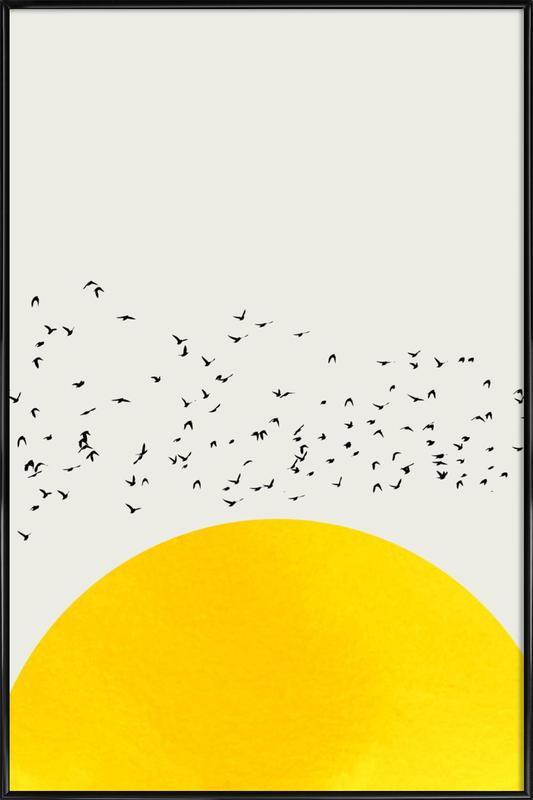 A Thousand Birds Gerahmtes Poster