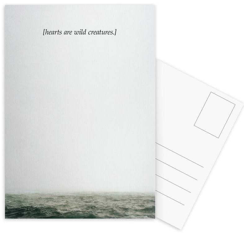 Wild Creatures Postcard Set