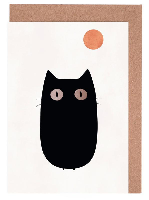Meow Greeting Card Set