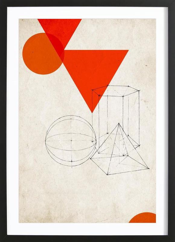 Dimensionssalat Framed Print