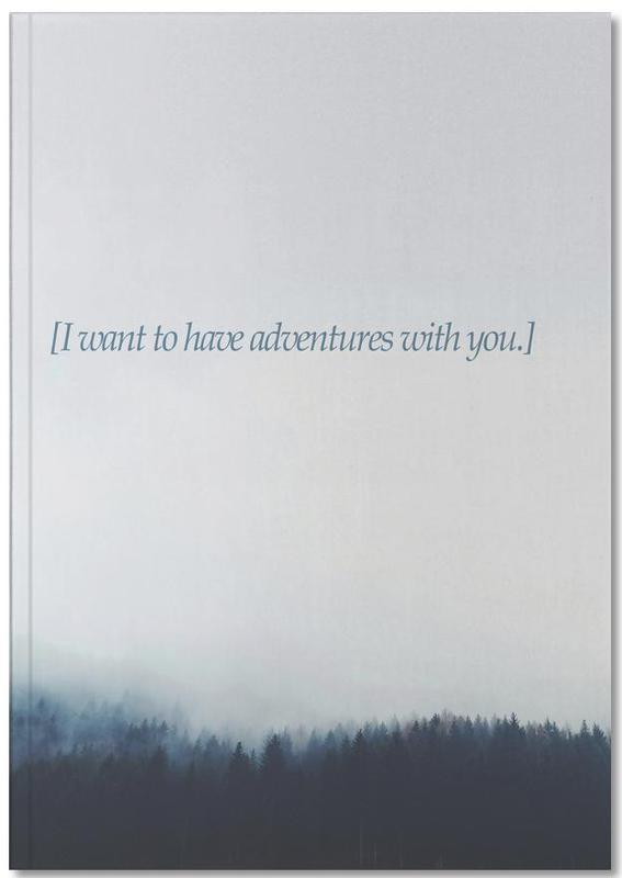 Adventures With You Notebook