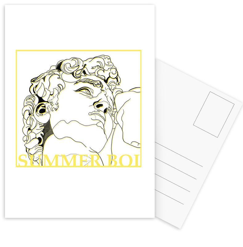 Summer Boi -Postkartenset