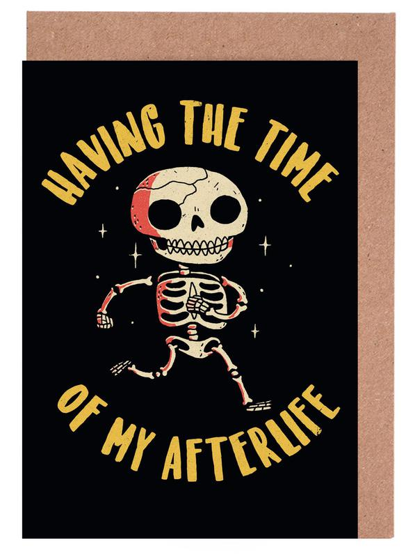The Time Of My Afterlife Greeting Card Set