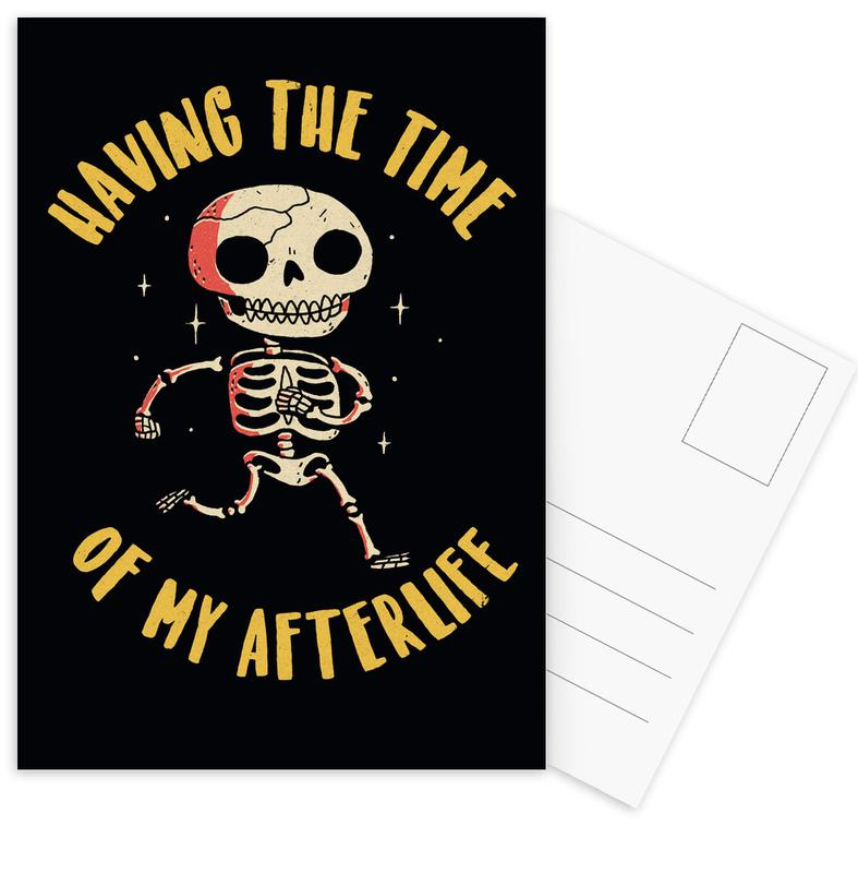 The Time Of My Afterlife Postcard Set