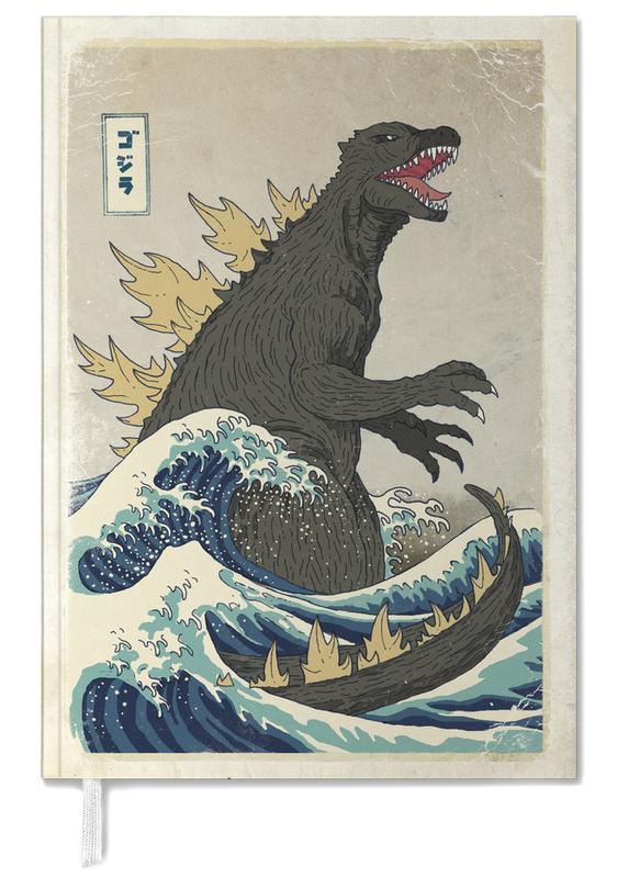The Great Godzilla off Kanagawa agenda