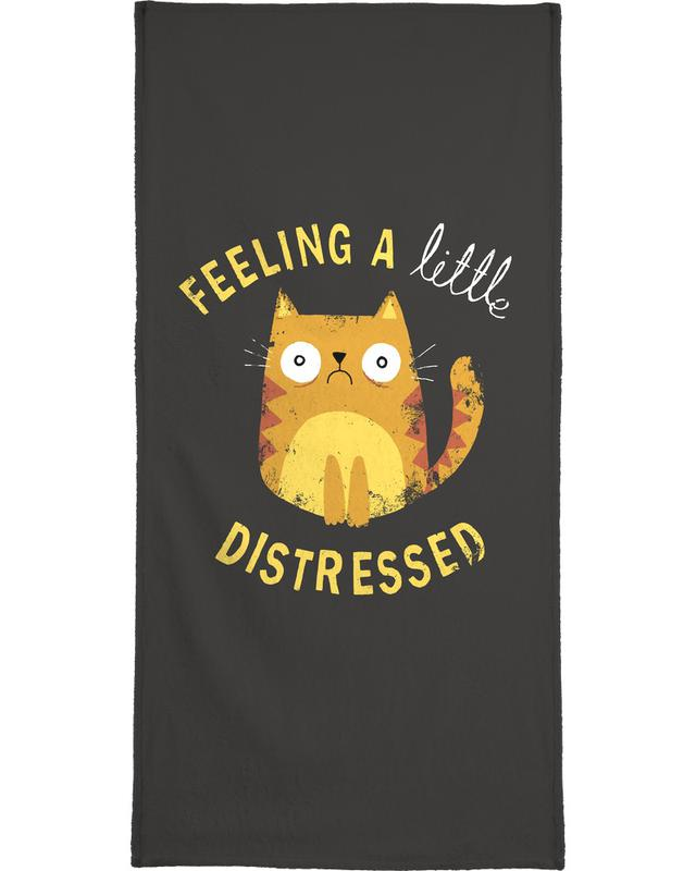 A Little Distressed -Handtuch