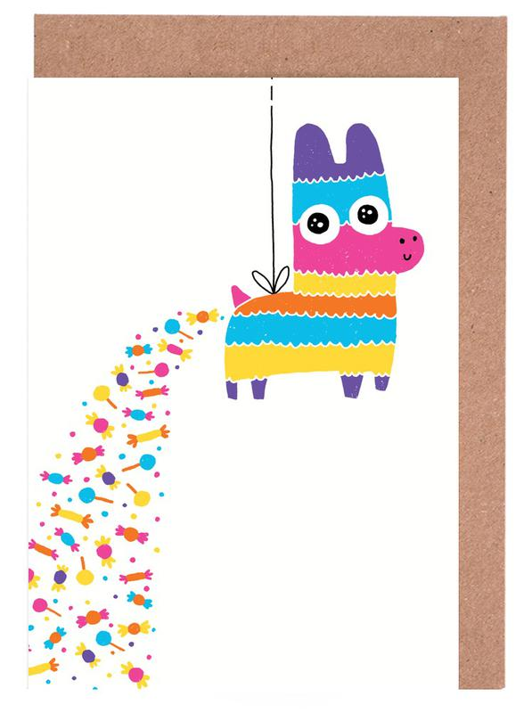 How Candy Is Made Greeting Card Set