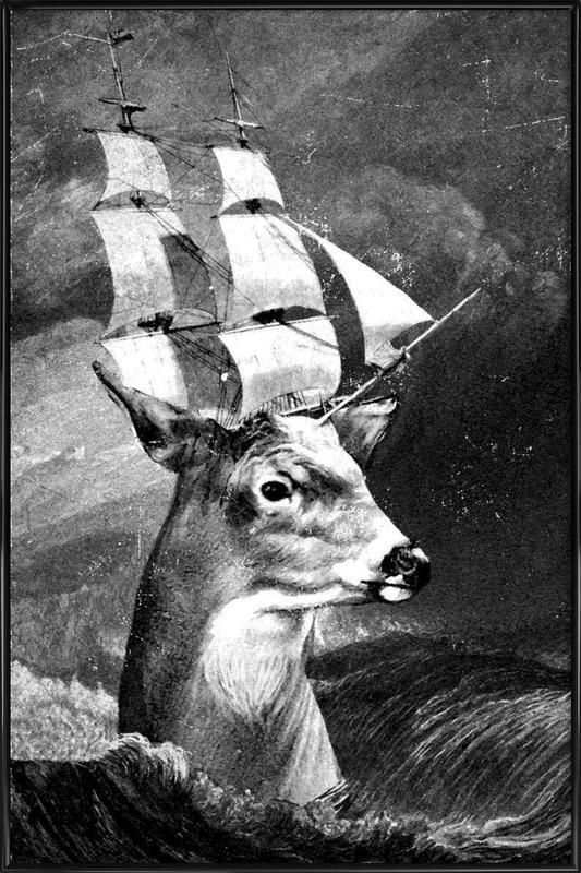 Set Sail ingelijste poster