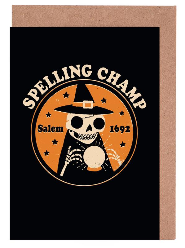 Spelling Champ Greeting Card Set