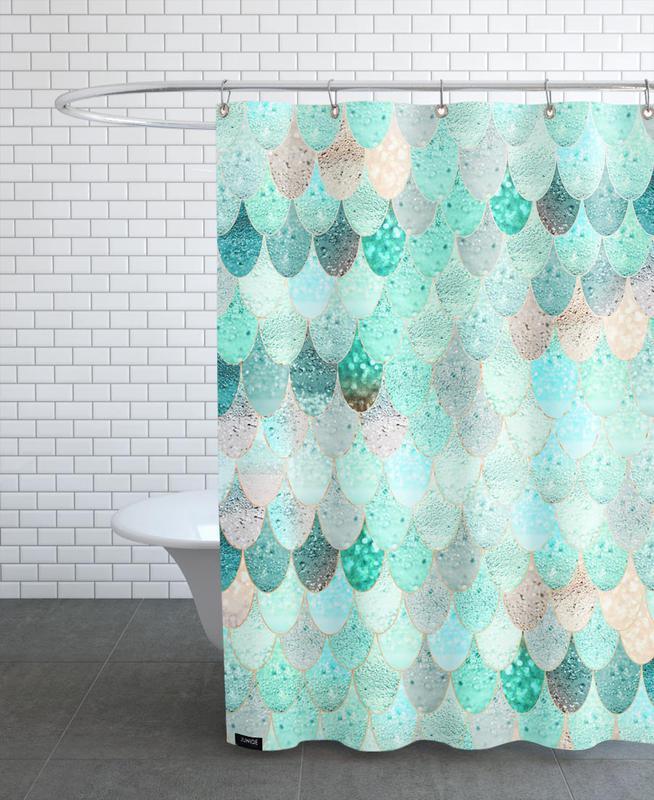 Mermaid Summer rideau de douche