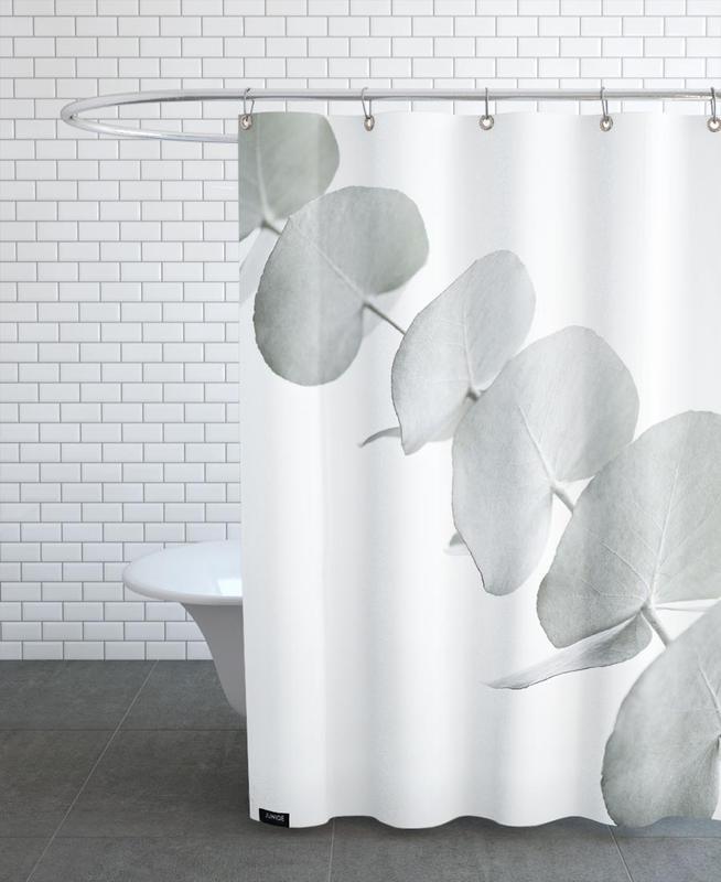 Eucalyptus White 3 -Duschvorhang