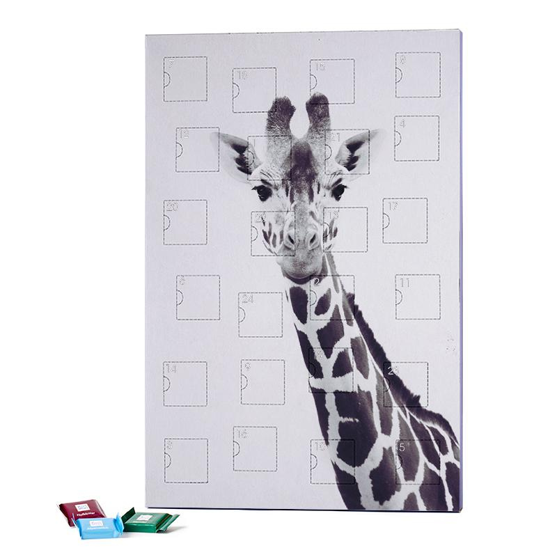 Giraffe 2019 Chocolate Advent Calendar - Ritter Sport