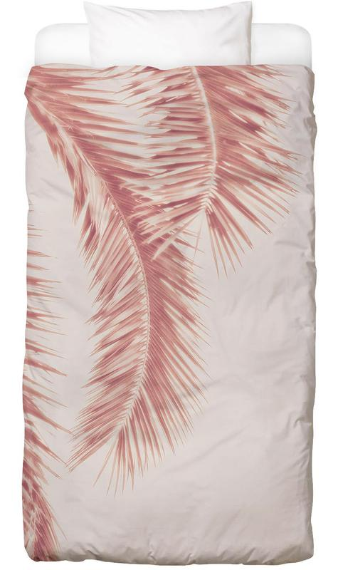Rose Palm Leaves -Kinderbettwäsche