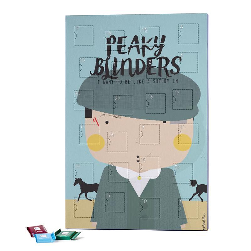 Little Peaky 2019 Chocolate Advent Calendar - Ritter Sport