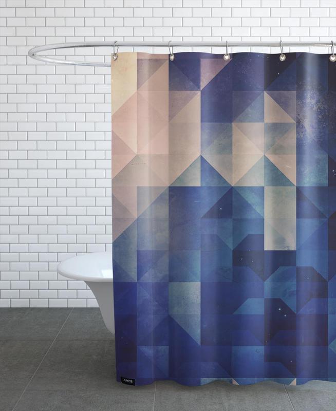 Hystyry Duschvorhang | Bad > Duschen > Duschvorhänge | Mehrfarbig | Polyester