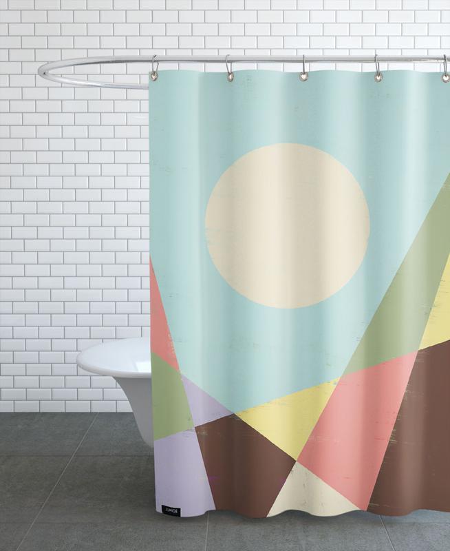 HERE VII Duschvorhang | Bad > Duschen > Duschvorhänge | Mehrfarbig | Polyester