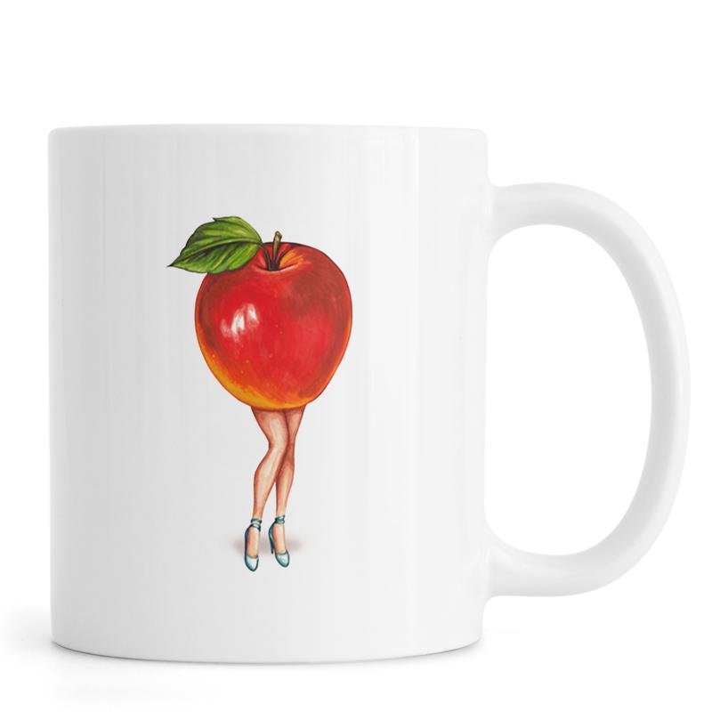 Fruit Girls Apple Mug