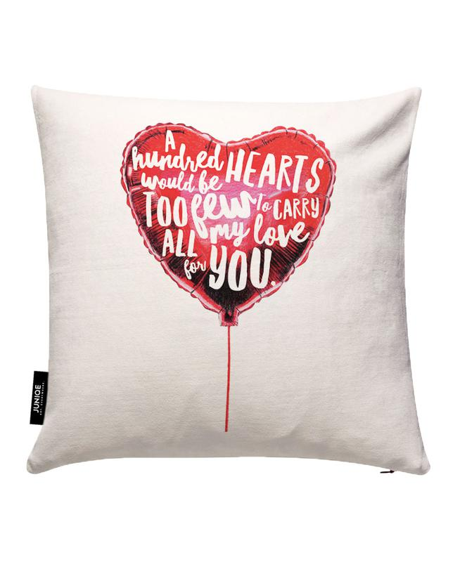 Heart Balloon Cushion Cover