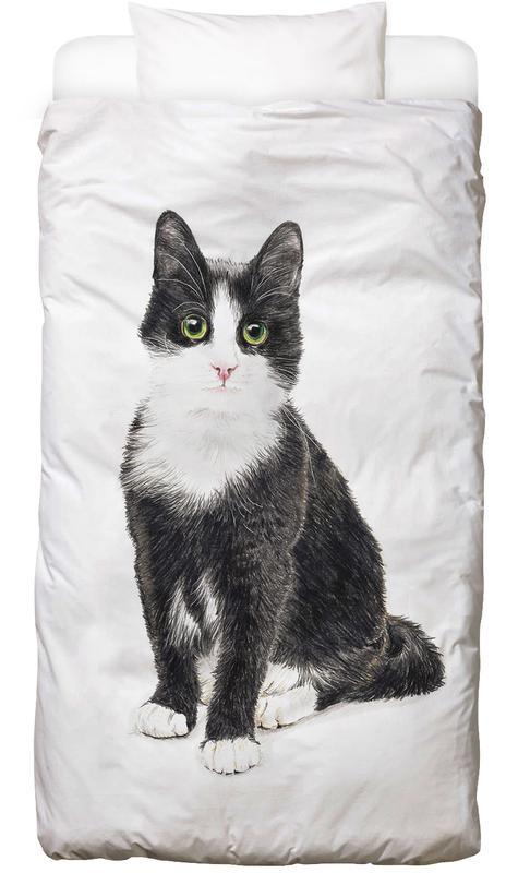 Katze Murmelauge Bed Linen