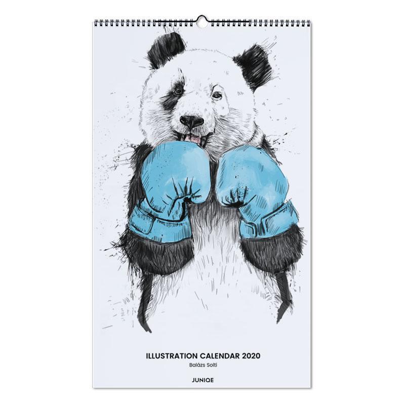 Illustration Calendar 2020 - Balázs Solti Wall Calendar