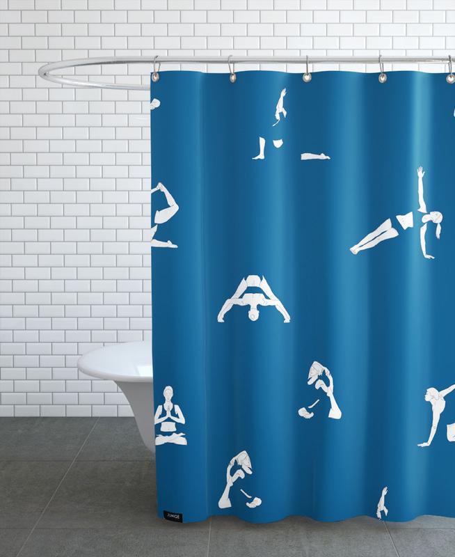 Yoga Practice 15 Shower Curtain