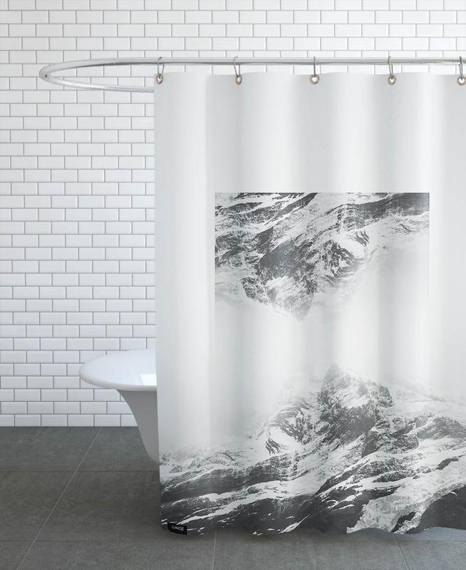 Mirrored 1 Torres Del Paine Shower Curtain