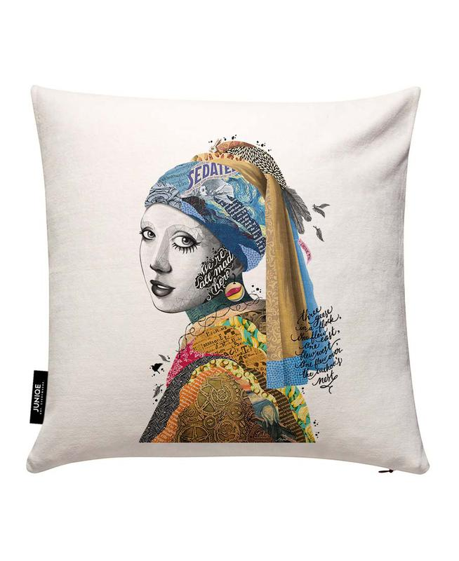 All Mad Here Housse de coussin