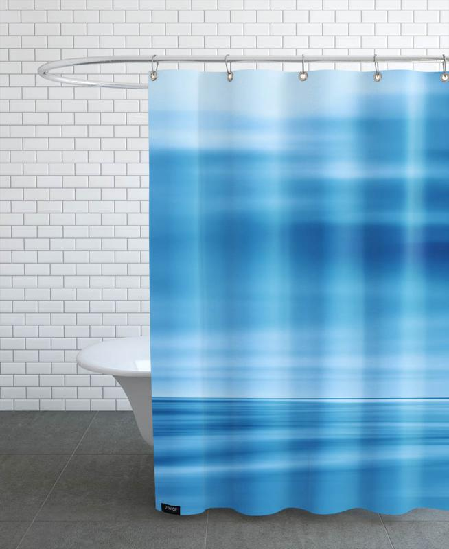 Seascape Blue Dune Shower Curtain