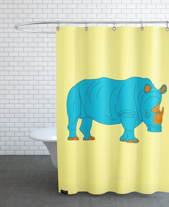 Nashorn Shower Curtain